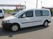 Volkswagen Caddy 1.6TDi MAXI ČR 5míst 1.maj,  pick up,  5d