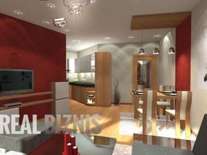 2 izbový byt, Nemšová, novostavba, 57 m2, balkón
