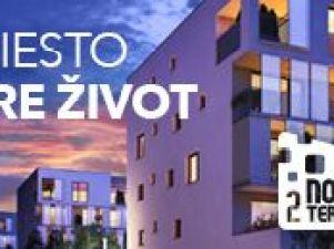 Nová Terasa - posledných 9 4-izbových bytov! Novostavba Košice II - Západ
