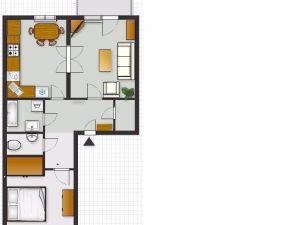 Krásny slnečný 2-izbový byt v Modre