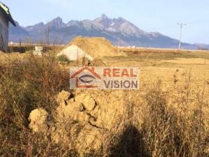 Predaj stavebný pozemok pre rodinný dom, prípadne penzión, Stará Lesná, Vysoké Tatry