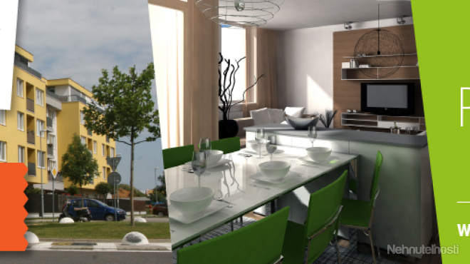 Na predaj 2 a 3 izbové byty vo výstavbe v bytovom komplexe Devínsky Dvor