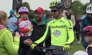 Video: Peter Sagan splnil sľub