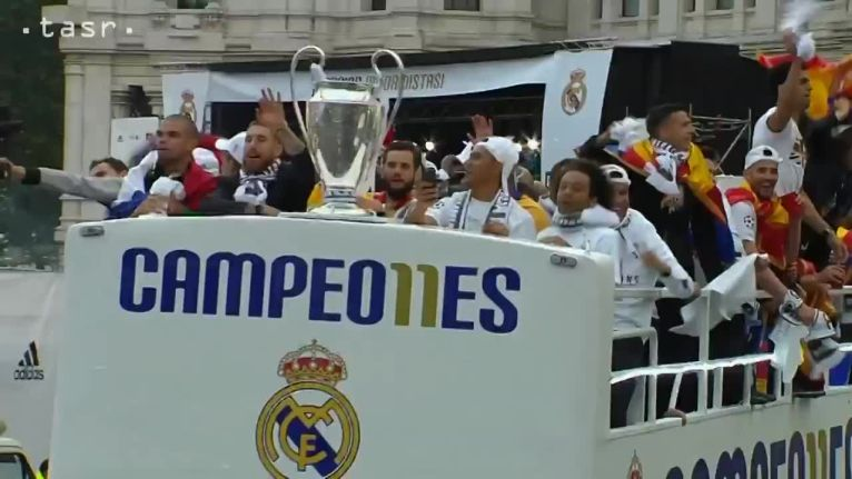 Oslavy, Real Madrid doma