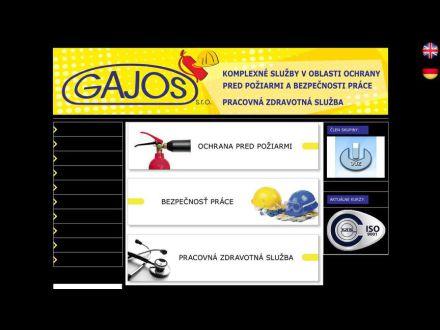 www.gajos.sk