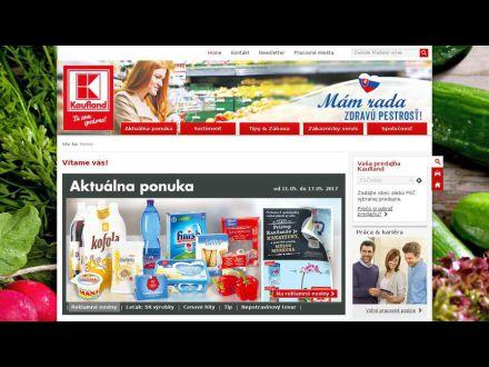 www.kaufland.sk