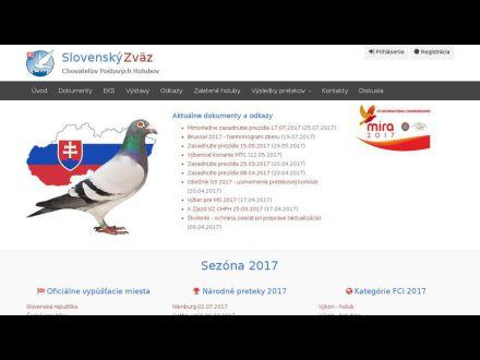 www.postoveholuby.sk
