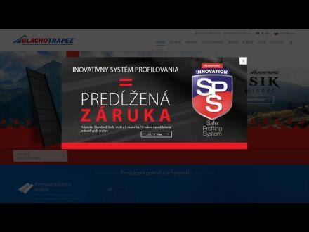 www.blachotrapez.sk