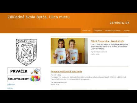 www.zsmieru.sk