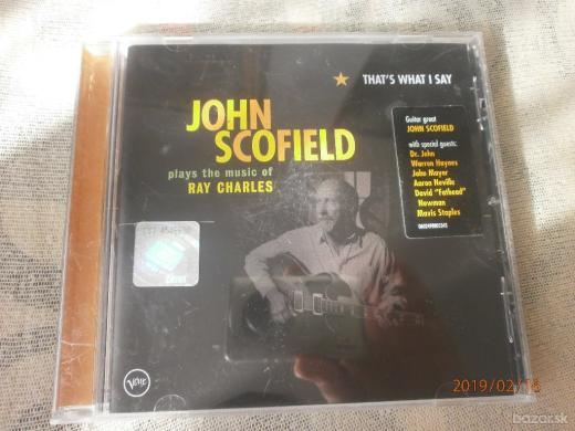 JOHN SCOFIELD-THATS WHAT I SAY