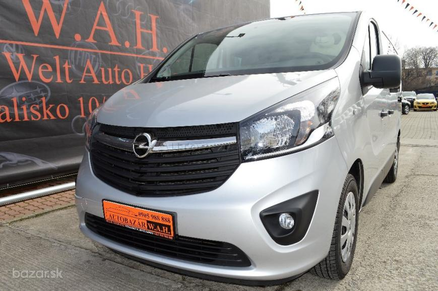 Opel Vivaro 1.6 CDTI BiTurbo 140k L1H1 Business Start/Stop