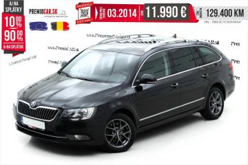 Škoda Superb Combi 2.0 TDI 140hp L&K Panorama