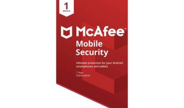 McAfee Mobile Security 1 Mobil 1 Rok GLOBAL