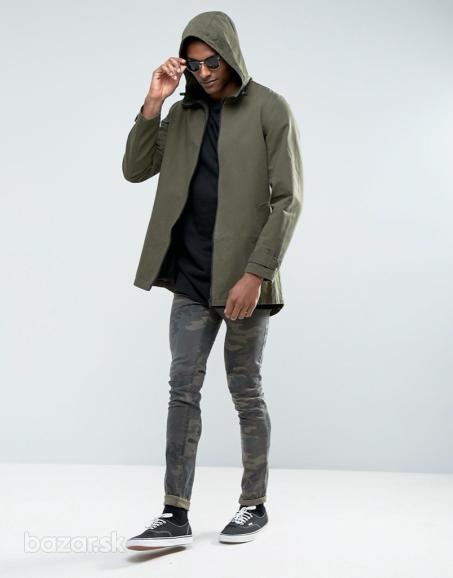 ASOS DESIGN man parka