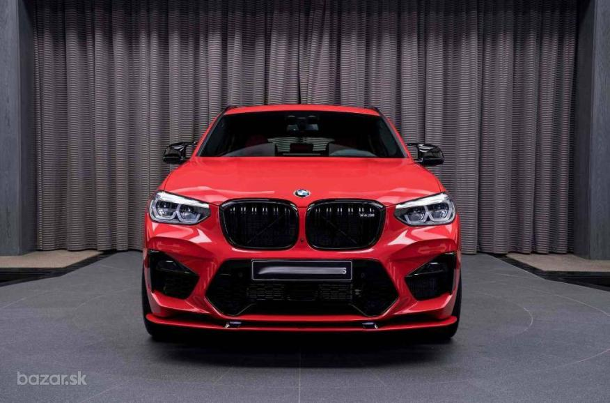 BMW X4 M competition racing 500kW