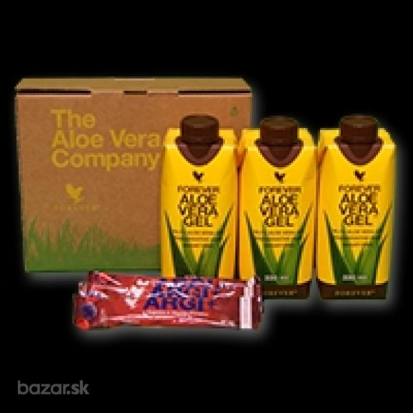 Aloe Vera Gel™ Mini 330ml(1ks gél) + ARGI+ (1 sáčo