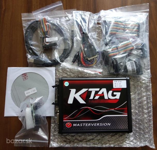 ECU Flasher KTAG V7.020 4 LED K-TAG Tuning 3xDVD