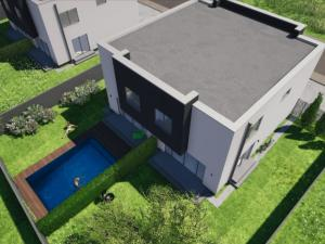 Moderný murovaný dom s vlastným pozemkom v Malom Raji Novostavba Slovenský Grob