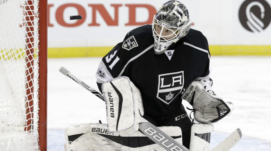 Peter Budaj Los Angeles Kings feb2017