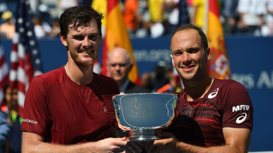 Jamie Murray Bruno Soares US Open stvorhra titul sep16 Reuters