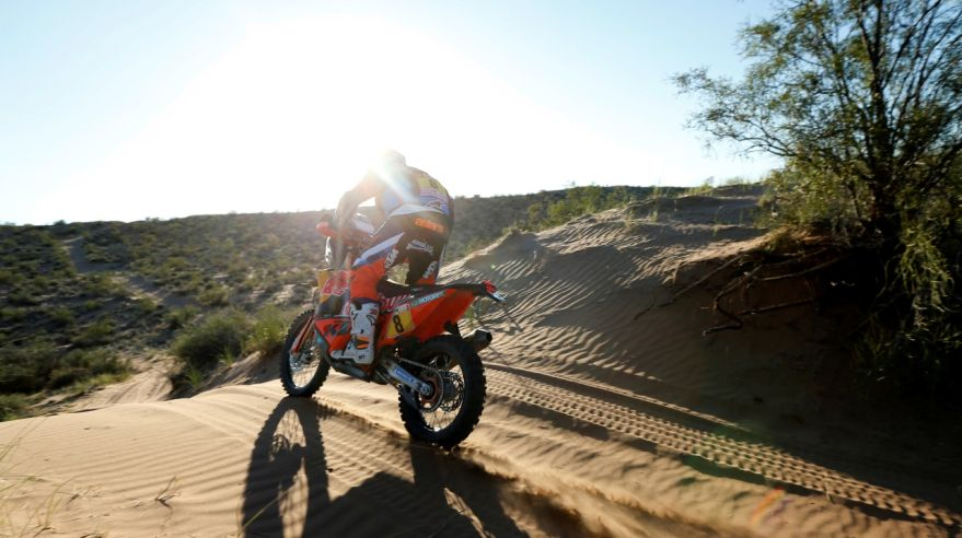 Toby Price na Rely Dakar