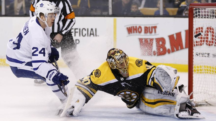 Boston Bruins - Toronto Maple Leafs (Kasperi Kapanen, Tuukka Rask)