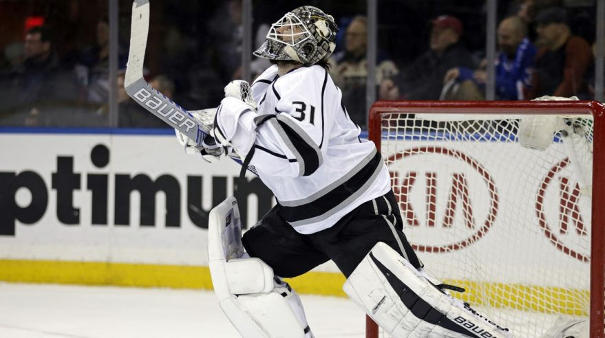 Peter Budaj, nhl, kings