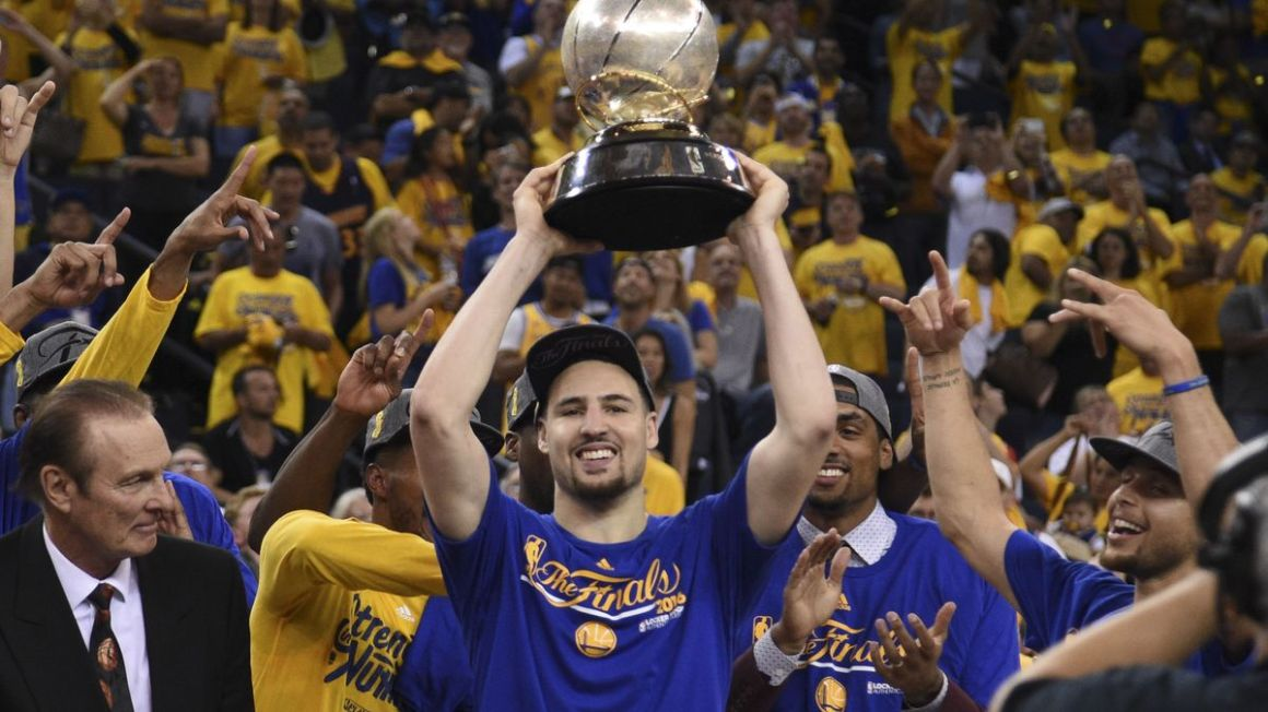 Golden State Warriors Klay Thompson maj16 Reuters