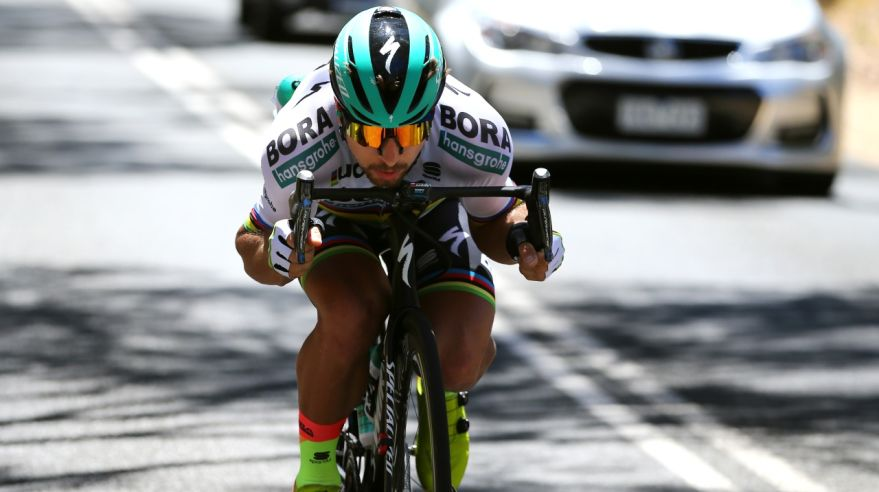 Peter Sagan na Tour Down Under
