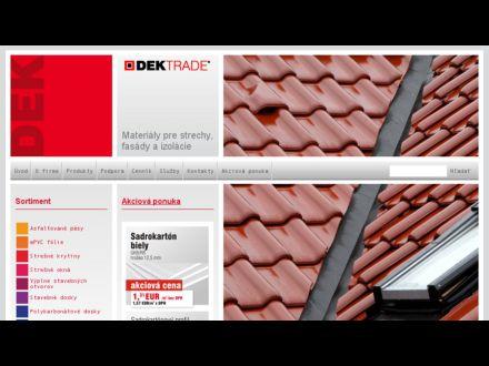 www.dektrade.sk