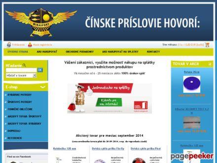 www.mirasport.sk