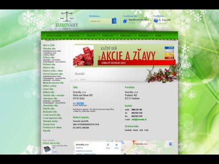 www.eurovahy.sk