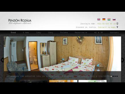 www.penzionrozalia.sk