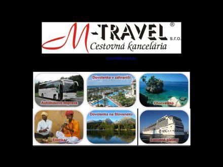 www.m-travel.sk