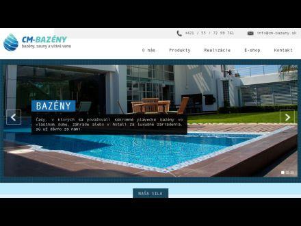 www.cm-bazeny.sk