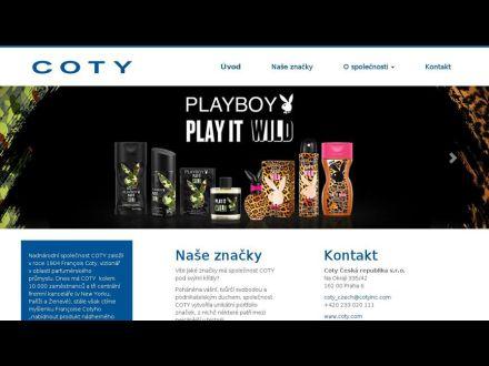 www.coty.cz