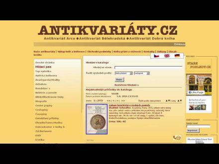 www.antikvariaty.cz
