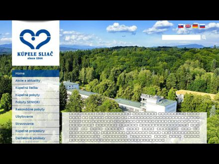www.spa-sliac.sk