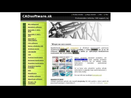 www.cadsoftware.sk