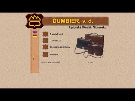 www.dumbier.sk