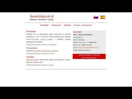 www.spanielskyjazyk.sk