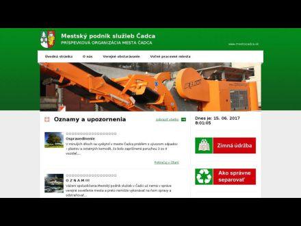 www.mps.mestocadca.sk