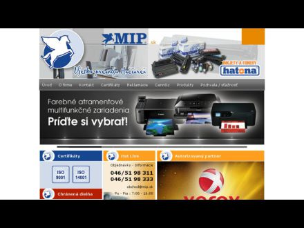 www.mip.sk