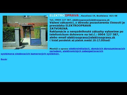 www.elektrooprava.sk