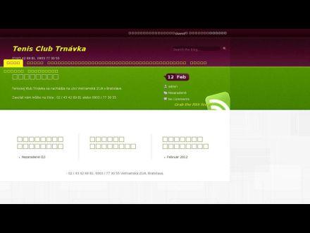 www.tenisclubtrnavka.sk