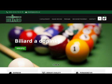 www.biliardshop.sk