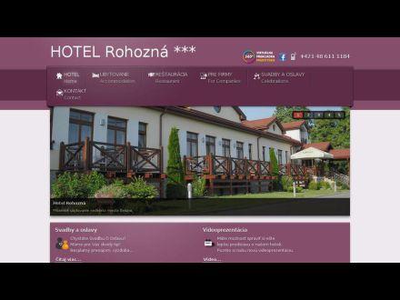 www.hotelrohozna.sk