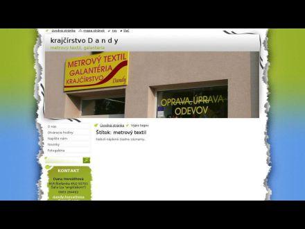 www.dandyhorvathova.meu.zoznam.sk