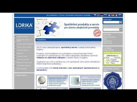 www.lorika.sk