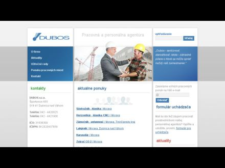 www.dubos.sk